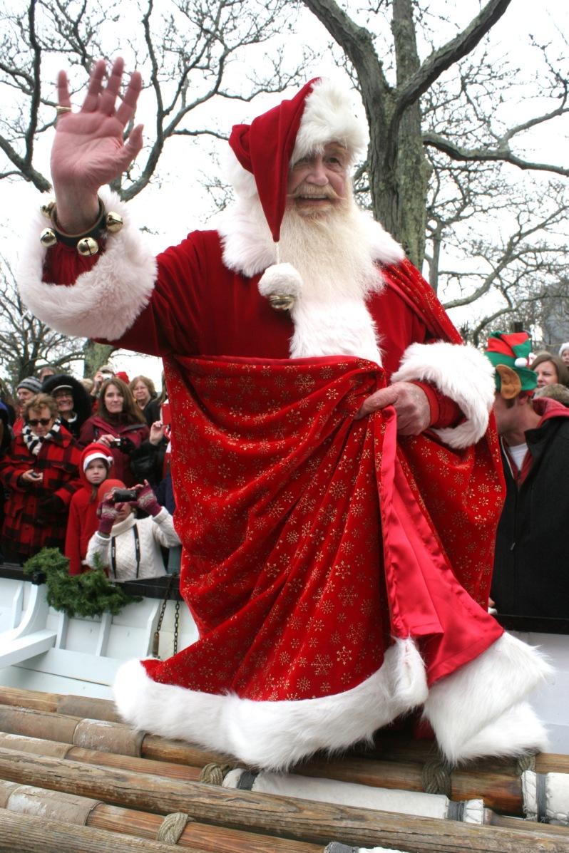 Santa in baot 2