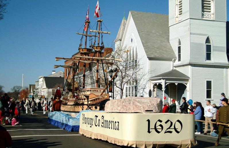 Plymouth Festival Parade