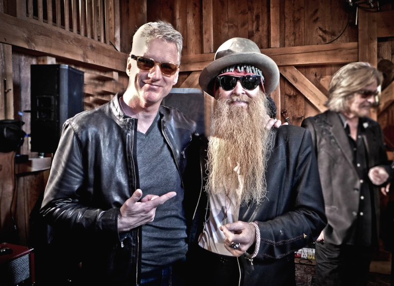 With Billy Gibbons (ZZ Top)